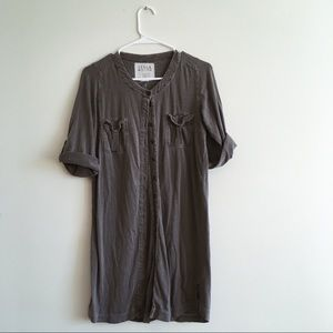 BILLABONG// Small button up dress